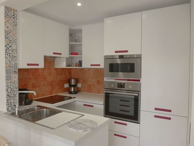 Photo for Apartment in the center of Le Lavandou with Lift, Parking, Internet, Washing machine (507076)