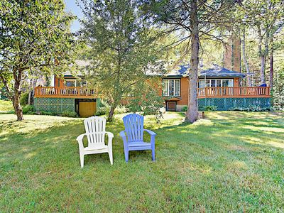 Photo for Gordon's Waterfront Retreat, 3BR Townhome on West Harbor Pond