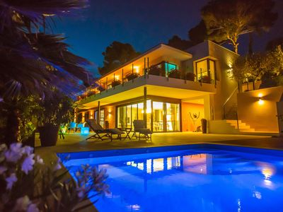 Photo for Luxury villa in Tossa de Mar near the beach with heated swimming pool
