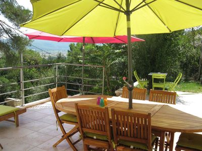 Photo for Recent villa 9 people in CUGES LES PINS (near the beaches of cassis)