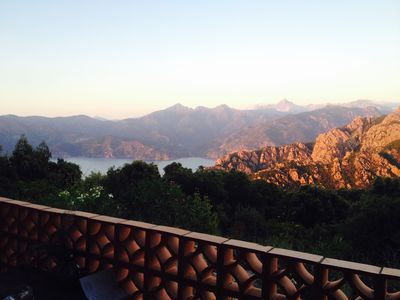 Photo for Villa facing the Calanche of Piana (Unesco classified). Exceptional. Pool.