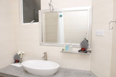 Toilets with vanity tops