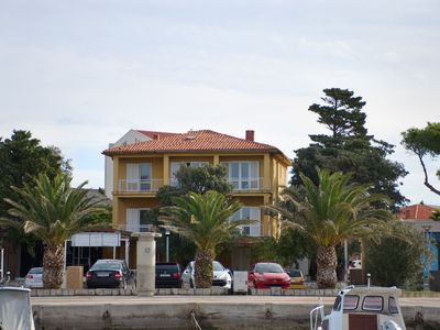 Photo for Strategic hostel on the sea in the city of Novalja and next bus stop