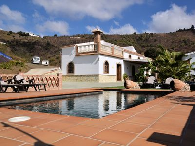 Photo for Detached holiday home with private pool and beautiful location near Arenas