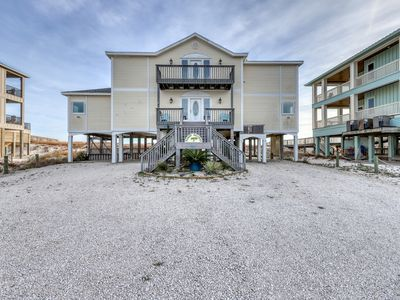 Photo for Dog-friendly waterfront home w/ beach access,  private pool & Gulf-view decks