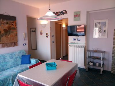 Photo for Lovely apartment just 50 meters from the beach of Mondello.