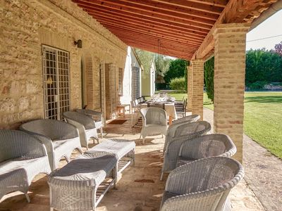 Photo for Casale Bellaguardia, Relax in nature, swimming pool, Wifi