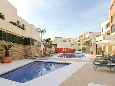 Photo for Samara 1 - Modern 2BR 3BA Duplex in Marbella, Heated Pool