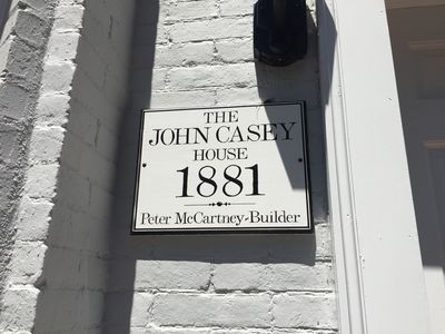 The Casey House is one of the few remaining McCartney Houses in Washington DC