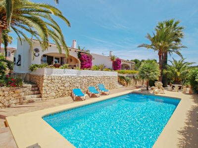 Photo for Balia - sea view holiday home with private pool in Benissa