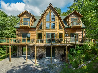 Photo for Immaculate 4 Bedroom Log home is ready to host your dream DCL getaway!