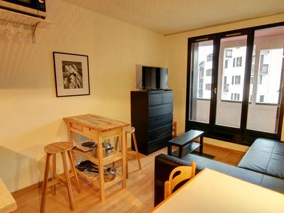 Photo for Comfortable studio in central Chamonix with views of Mont Blanc