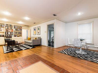 Photo for Spacious M Streets Oasis - King Bed + Walkable