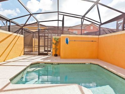 Photo for Cozy 3 bedroom with a private pool in a gated community