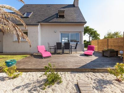 Photo for Beautiful house near the sea - view on the sea- in britanny
