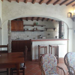 Photo for Panoramic villa on the hills between Florence and Siena - Unit 4