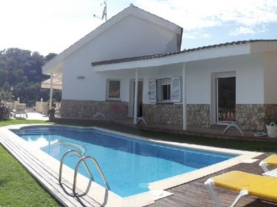 Photo for HOUSE WITH A PRIVATE GARDEN AND POOL AT 800M FROM THE BEACH ref YUTA