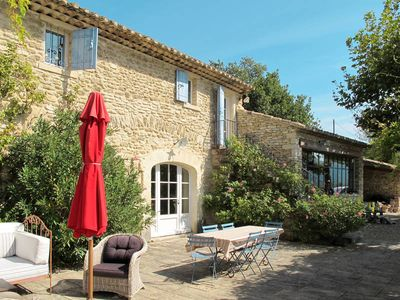 Photo for Vacation home La Frésquière  in Gordes, Luberon and surroundings - 6 persons, 3 bedrooms