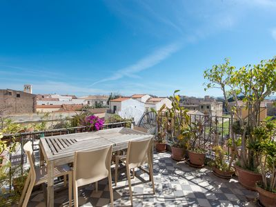 Photo for Palazzo Castrofilippo Apartment with 2 Terraces by Wonderful Italy