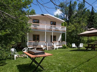 Photo for Chalet The Villager, THE spot in mountain for a restful vacation at 15 minutes of Quebec
