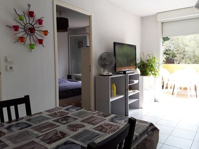 Photo for Apart. T2 recent in quiet residence + terrace + secure parking