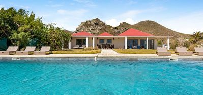 Villa Caribbean Breeze -  Ocean Front - Located in  Stunning Anse des Cayes with Private Pool