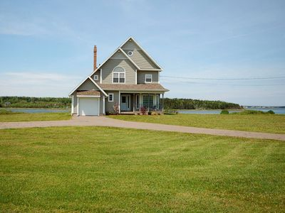 Photo for Executive waterfront home on Brackley Bay.