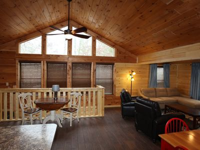 Photo for Beautifully remodled one bedroom cabin. Ask about March and April Specials