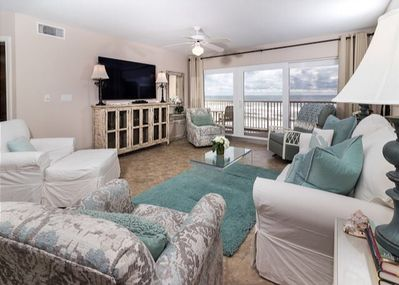 DELUX EXTRA LARGE WITH MASTER BEDROOM ON THE BEACH SIDE,🏖 - Fort Walton  Beach