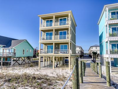 Photo for Wedding-friendly Gulf front paradise w/private pool & boardwalk to the beach!