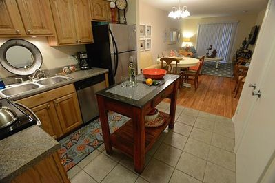 Kitchen is equipped with everything you will need for your stay.