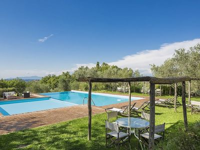 Photo for Casa Gionata B: A characteristic and welcoming two-story apartment in the characteristic style of the Tuscan countryside, with Free WI-FI.