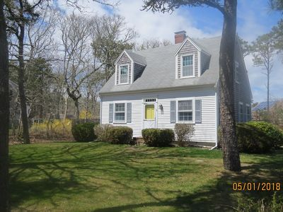 Photo for New listing! This lovely 3 bedroom Cape is located on a quiet street with wooded lot across the way.