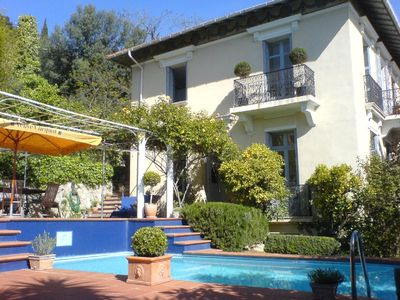 Photo for 1920 Mansion (villa) with panorama seaview, A/C, private pool and closed parking
