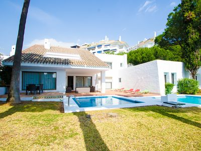Photo for 5 bedrooms Villa Seafront VII in Puerto Banus