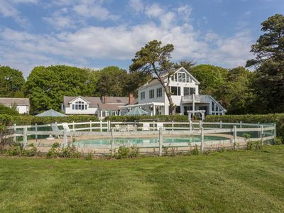 Photo for NEW LISTING! Oceanfront estate w/ heated pool, indoor hot tub & amazing views!