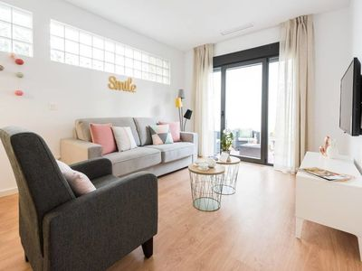 Photo for modern Apt with terrace in Chamberi