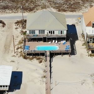 Photo for STUNNING BEACHFRONT HOME with POOL!!