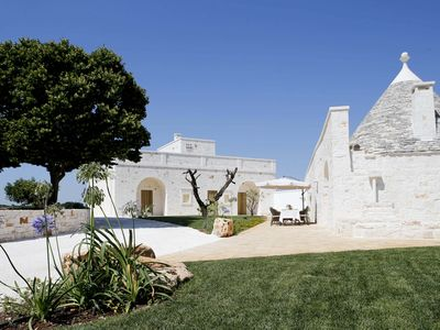 Photo for Trulli middle, old stone house in a place of absolute tranquility