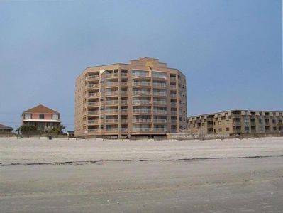 Photo for OCEANFRONT Southerly End Unit --HUGE BALCONY ;OWNER OPERATED; LINENS INCLUDED