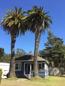 Photo for Welcome to The Blue House! Located in the quaint coastal town of Half Moon Bay