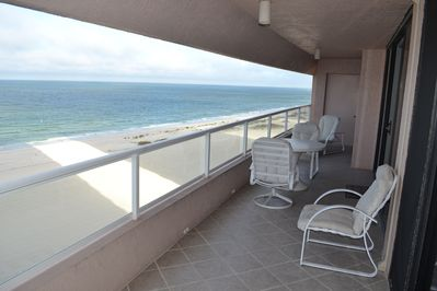 View from your spacious balcony