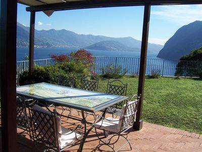 Photo for Villa Daniela is by the lake Iseo with amazing view surrounded by olive trees