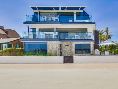 Photo for NEW BUILD! High-End Modern Ground Floor Waterfront Condo w/ AC + 2 Parking!