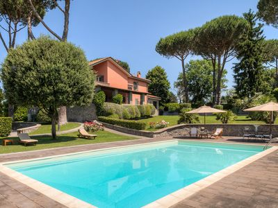 Photo for LUXURY COUNTRY HOUSE near ROME - swimming pool, turkish baths, sauna, gym and...