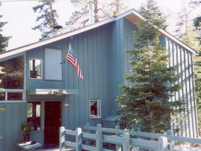 Photo for 5BR Cabin Vacation Rental in Tahoe City, California