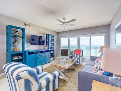 Photo for NEWLY RENOVATED BEACHFRONT CONDO w/PHENOMENAL VIEW OF GULF OF MEXICO!!