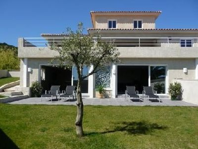 Photo for Villa by the sea, heated indoor pool, 8 people, well equipped