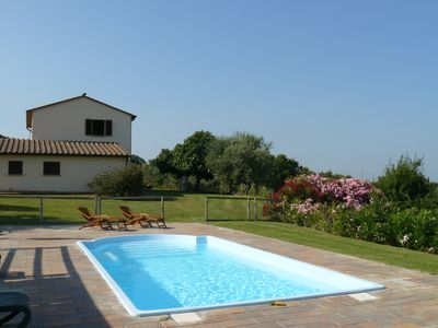 Photo for Charming Villa with spectacular view on the etruscan coast