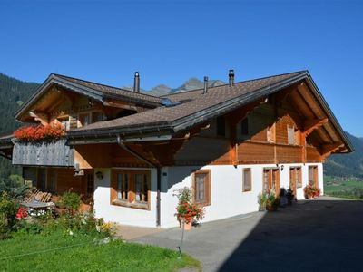 Photo for Apartment Annen in Gsteig bei Gstaad - 4 persons, 1 bedrooms